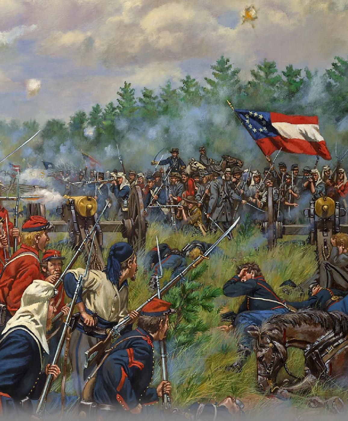 17 Best images about Civil War Art on Pinterest | Limited ... |American Civil War Battle Paintings