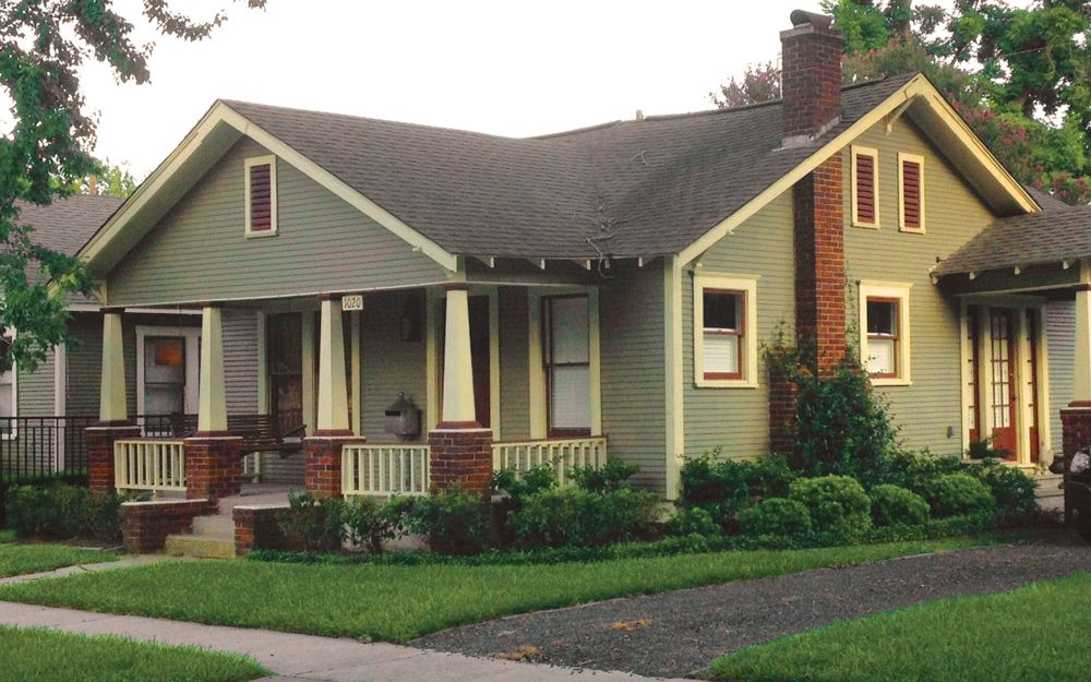 Vintage Bungalow: A Beautiful Example Of An Arts And