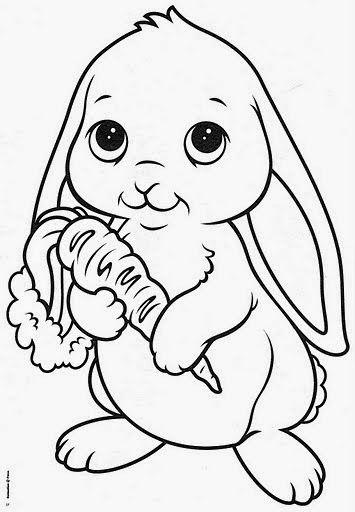 Resultado De Imagen Para Conejito Tierno Dibujo Animales Y Plantas
