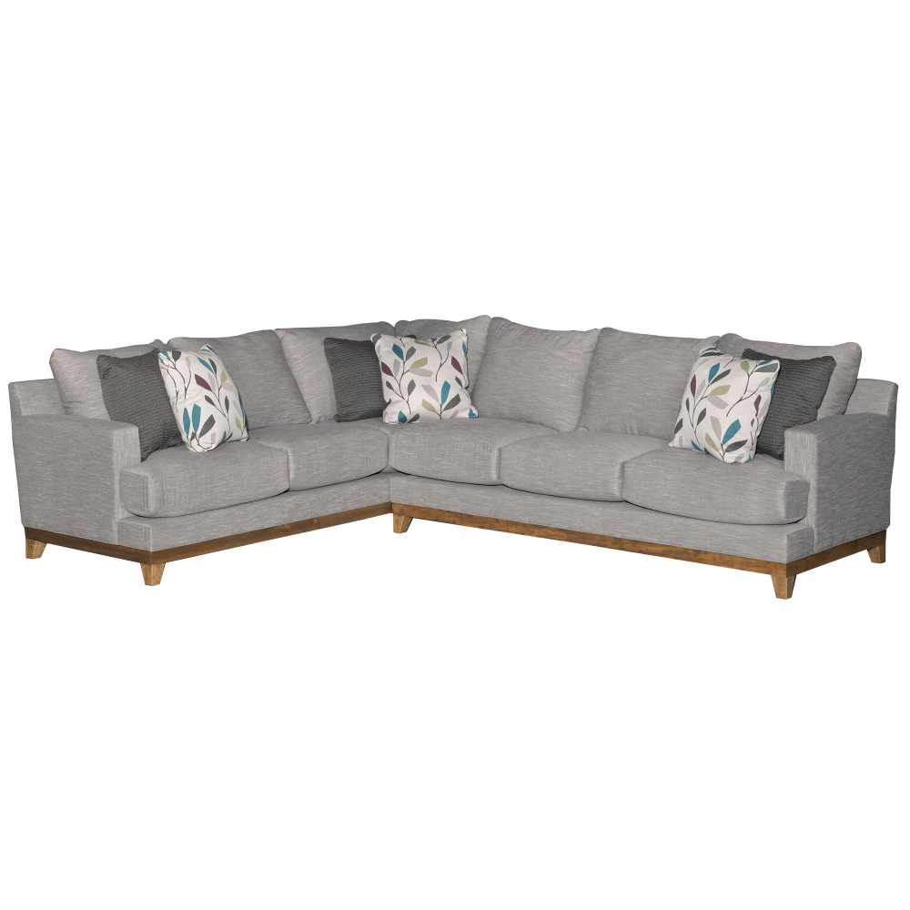 Contemporary Gray 2 Piece Sectional Sofa With Raf Sofa Dayton In 2020 2 Piece Sectional Sofa