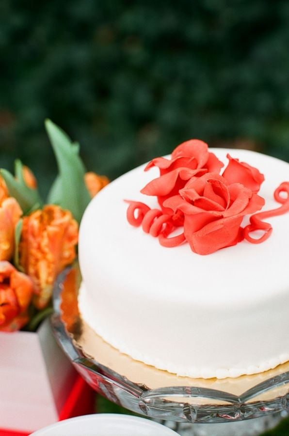 how to build a wedding cake with pillars tangerine inspiration shoot wedding cake 15590