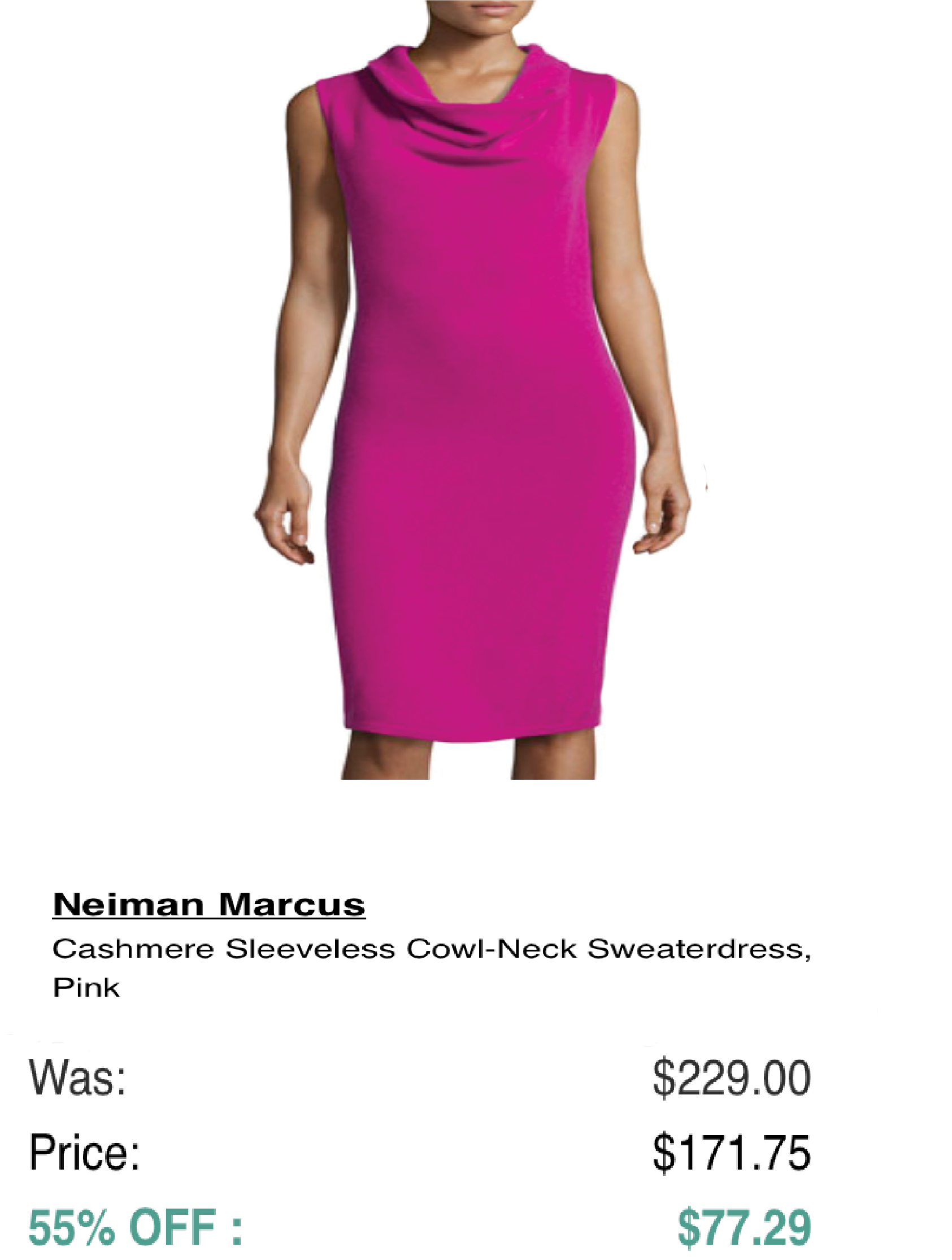 CyberMonday continues at our Online Mall! Shop 120 stores with one URL http://tryiton-online.com/your-mall for deals like this one on cashmere sweaters at http://tryiton-online.com/your-mall/neiman-marcus-last-call/  Hurry! Sale ends in 2 hours!