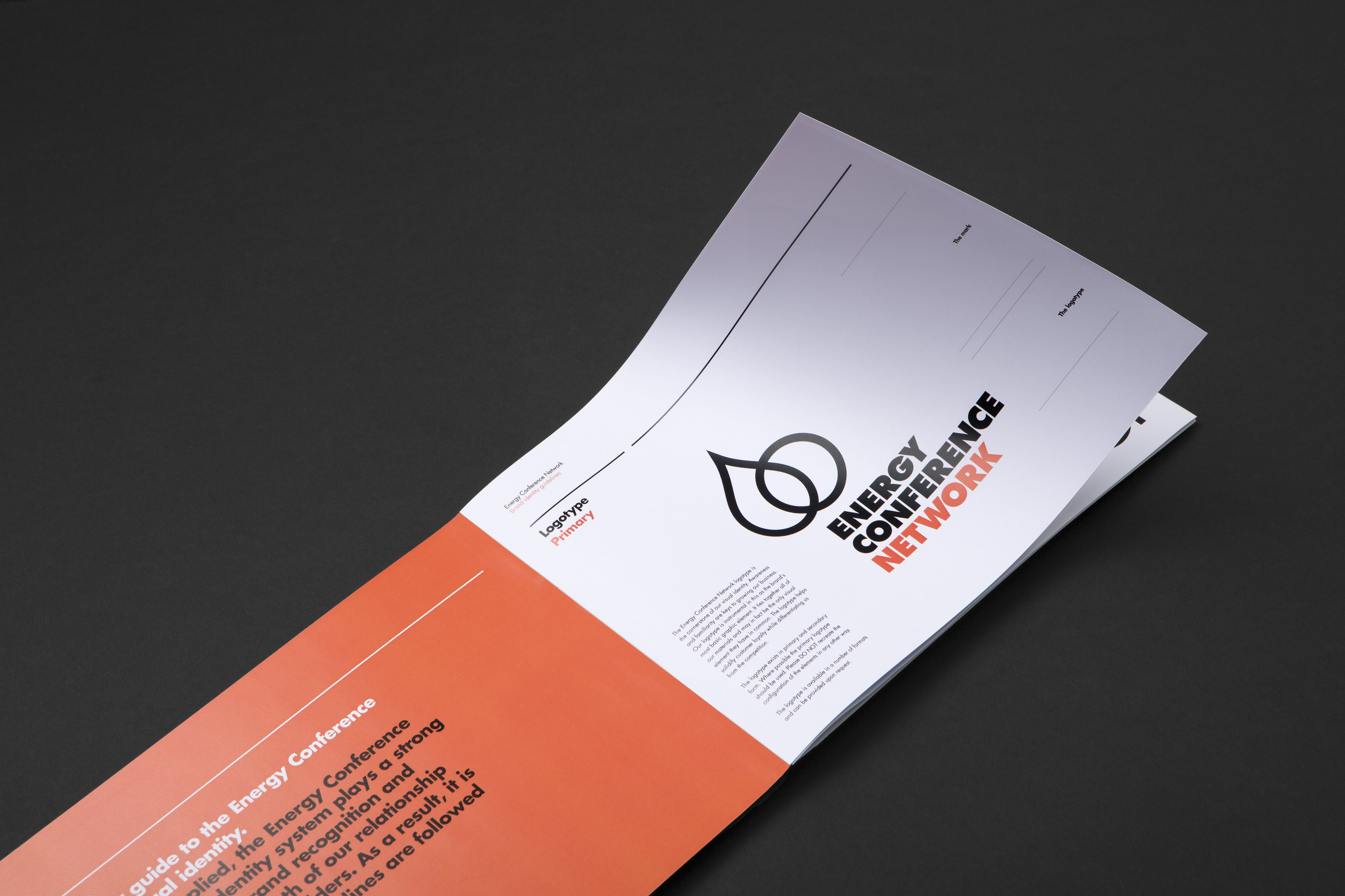 Energy Conference Network Brand Identity www.twelvecreative.com.au