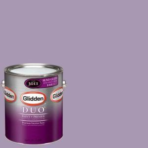 Glidden Duo 1 Gal Glv12 01s Soft Amethyst Semi Gloss Interior