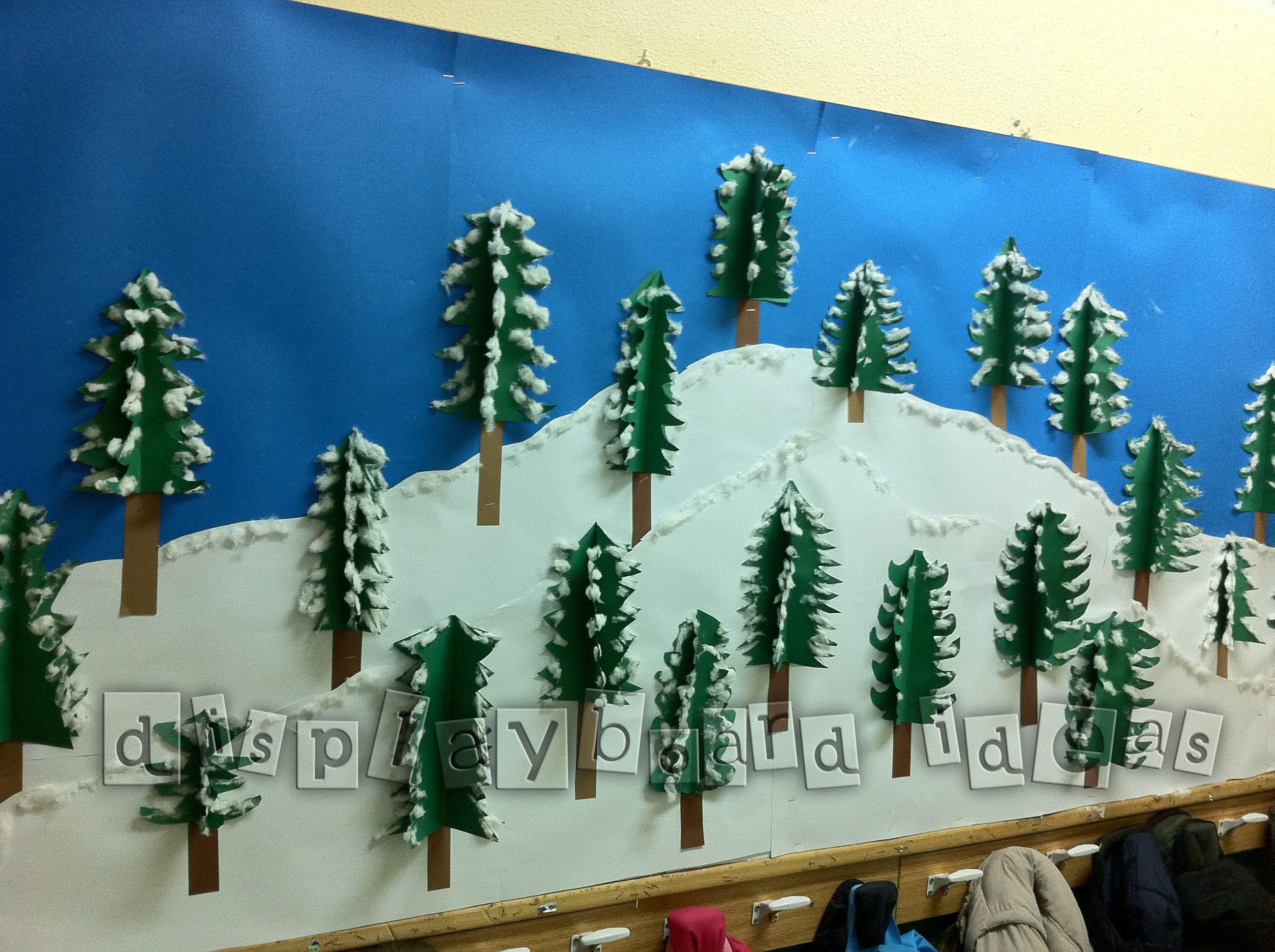 Winter Wonderland Preschool Classroom Decorations : Google image result for http displayboardideas