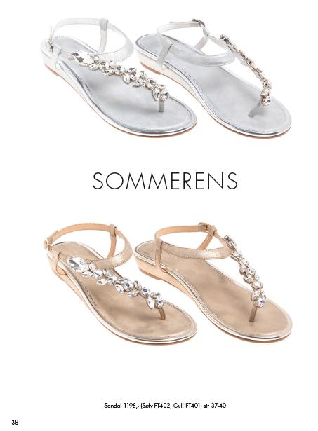 Sandaler bilde 2 av 2 (sort, sølv og gull) skinn og krystaller.Nytt fra vår og sommerkolleksjonen. Ta gjerne kontakt om du ønsker noe mob. 90918076