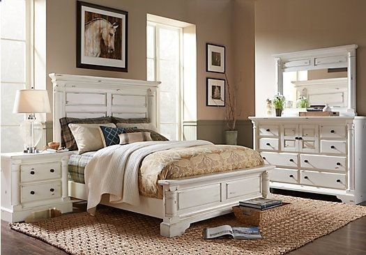 Claymore Park Off-White 5 Pc Queen Panel Bedroom  $1,18800 Find