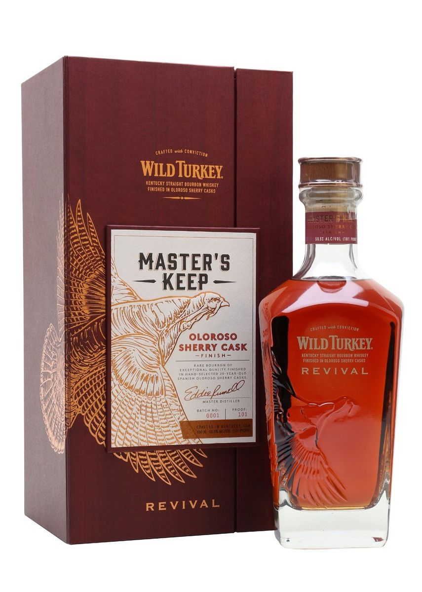 Wild Turkey Master S Keep Revival Kentucky Spirit Labels Whisky Whiskey