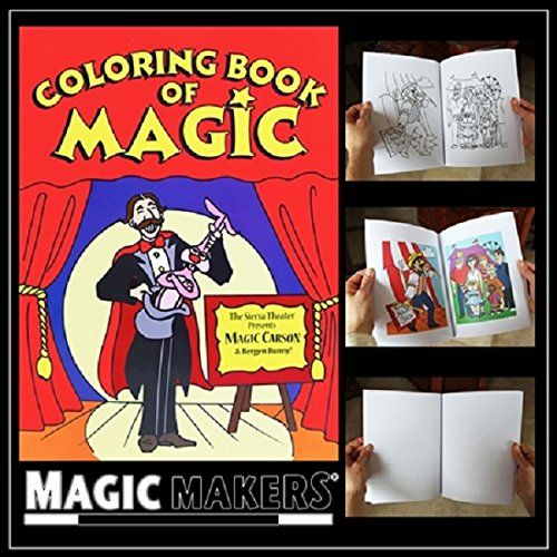 Color Changing Book - Easy Magic Trick (Magic Coloring Book), 2015 ...