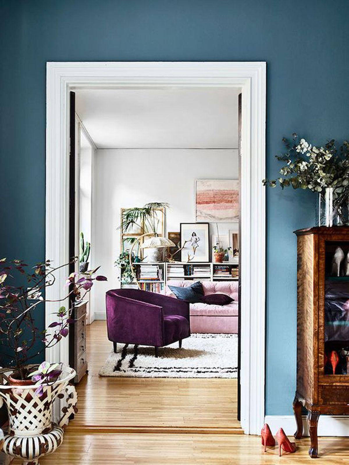 Colore delle Pareti Azzurre kikke per la casa Pinterest