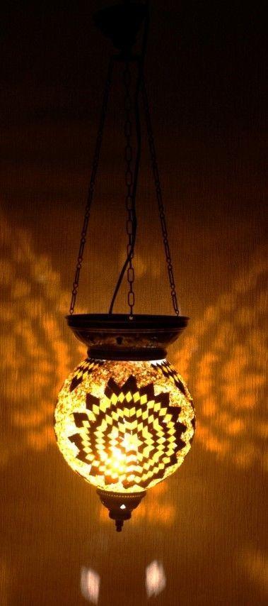 NEW!! Mosaik - Deckenlampe Hängelampe Mosaik ORIENTALISCHE MOSAIKLAMPE