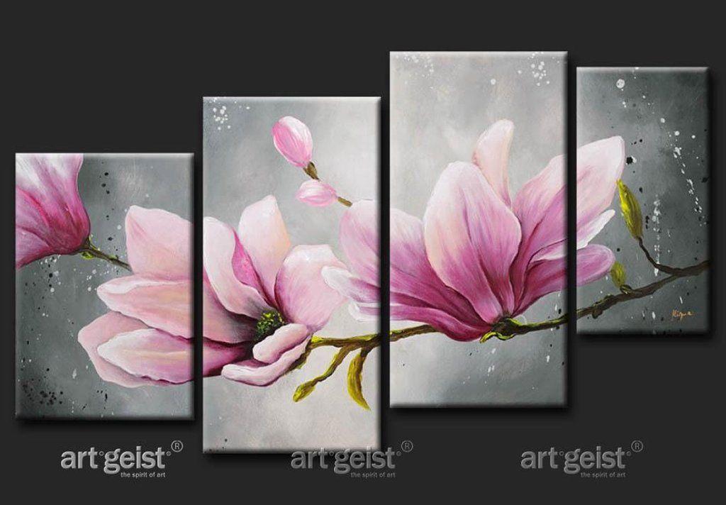 Cuadros con flores pintadas buscar con google flores - Bimago cuadros modernos ...