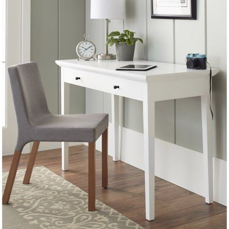 10 Spring Street Burlington Collection Desk Multiple Colors Walmart Com Home Office Design Desk Traditional Desk