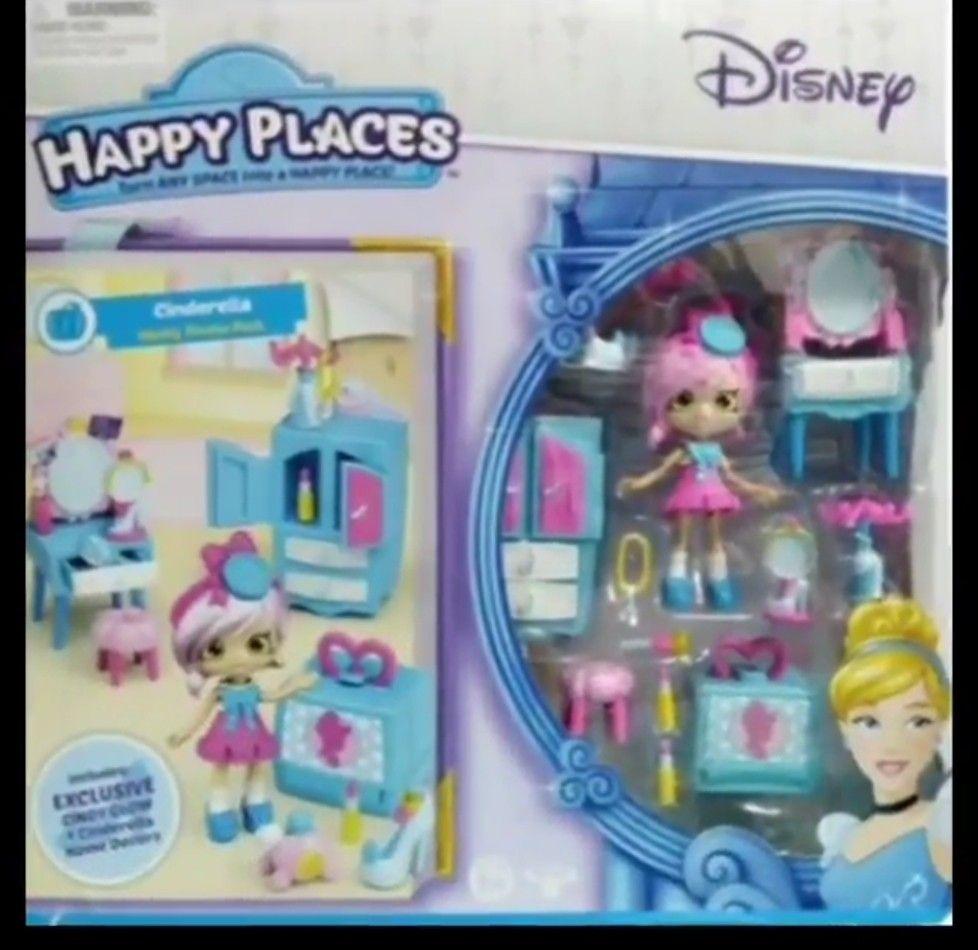 Disney Cindy Toddler Doll H15: Doll - Cindy Glow Disney Cinderella Vanity Set