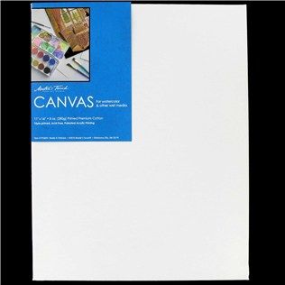 Master S Touch 11 X 14 White Watercolor Canvas Shop Hobby
