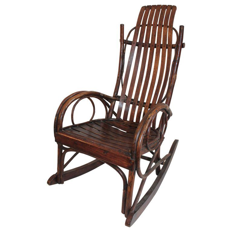 Amish bent wood childs rocking chair rocking chair