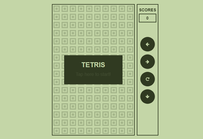 Code Typo: Make Tetris Game with HTML CSS and Java-Script