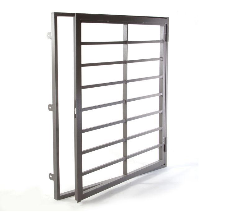 Reja de hierro de seguridad para ventanas Modelo Abatible p p k