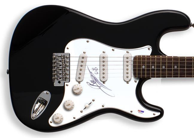 Ratt Autographed Stephen Pearcy Signed Guitar PSA/DNA