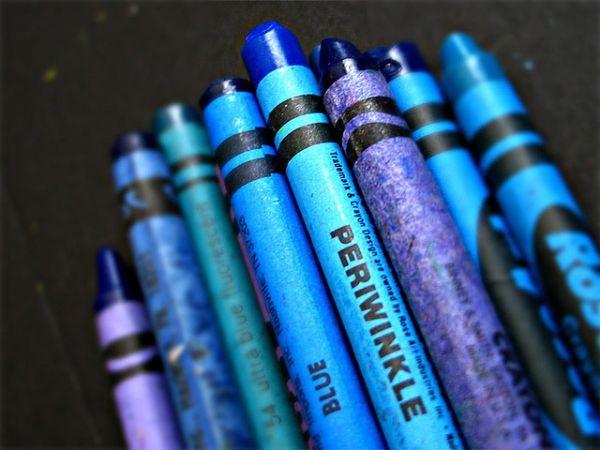 Color Blue Crayon Image by scottwills Color palettes blue