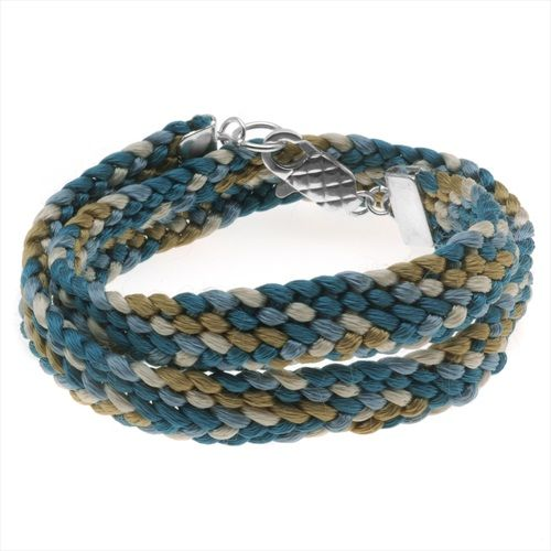 SUPPLIES FOR PROJECT B642 CHINO KUMIHIMO FLAT BRAID WRAP BRACELET from beadaholique.com