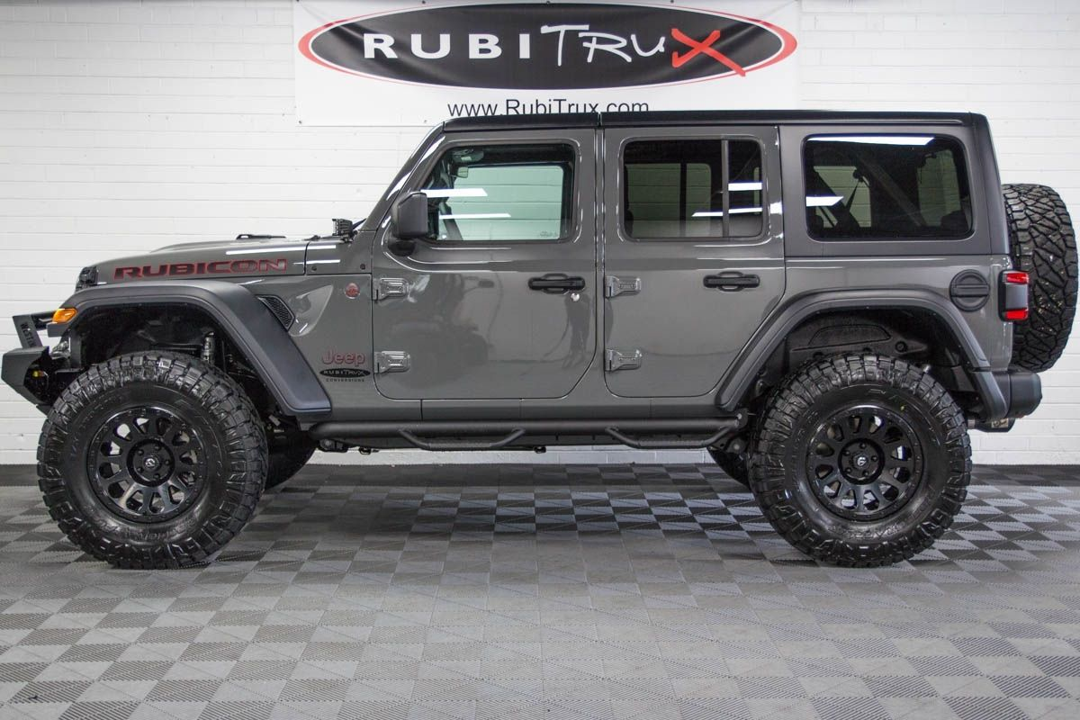 2018 Jeep Wrangler Rubicon Unlimited Jl Sting Gray En 2020 Jeep Modificados Jeep Proyectos