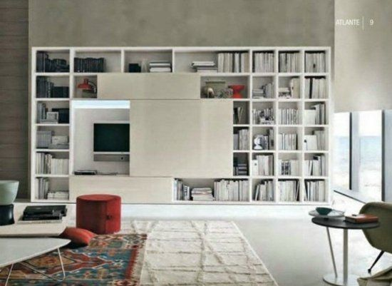 cacher sa t l avec une porte coulissante 48 id es int ressantes design moderne cacher et. Black Bedroom Furniture Sets. Home Design Ideas
