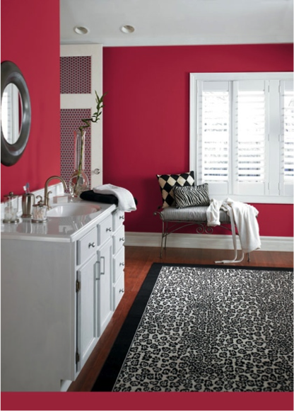 Red Bathroom Color Ideas sherwin-williams antique red (sw 7587) | paint colors for