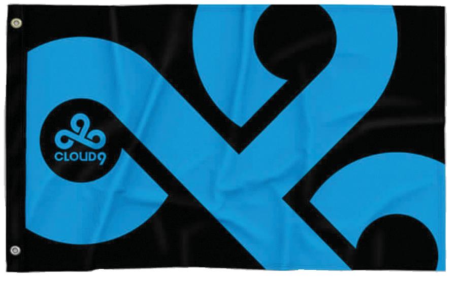 Cloud9 2020 Logo Flag Cloud 9 Flag Logos