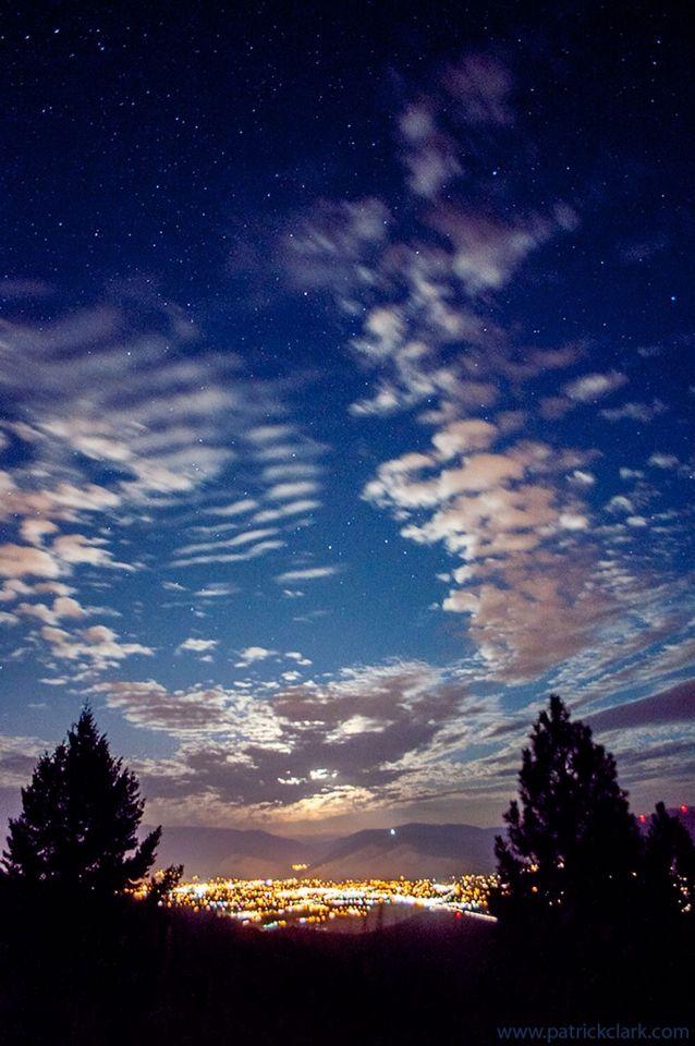 Missoula starry night