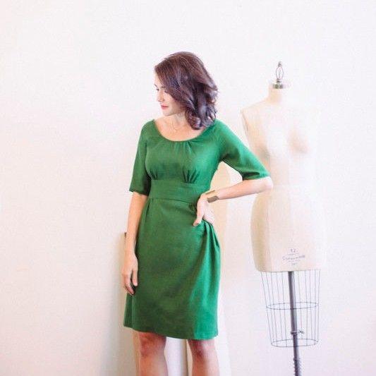 Dahlia Dress - Colette Patterns - Dressmaking - Sewing - UK | Sewing ...