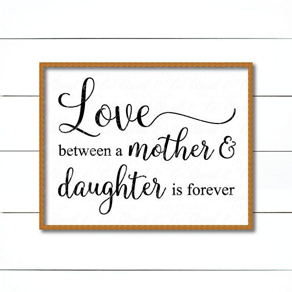 Download Love Between a Mother and Daughter svg Mother's Day svg ...