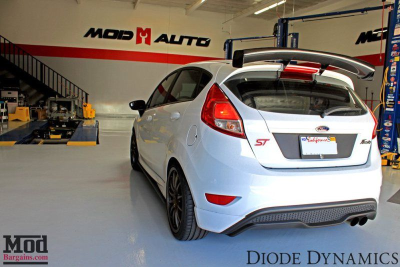 Review Luxeon Led Fog Lights For Fiesta St Hid Kit Installed Fiesta St Ford Fiesta St Led Fog Lights