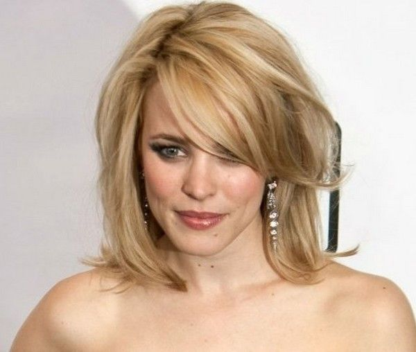 Wedding Hairstyle For Square Face: Medium Length Haircuts For Fine Hair Square Face