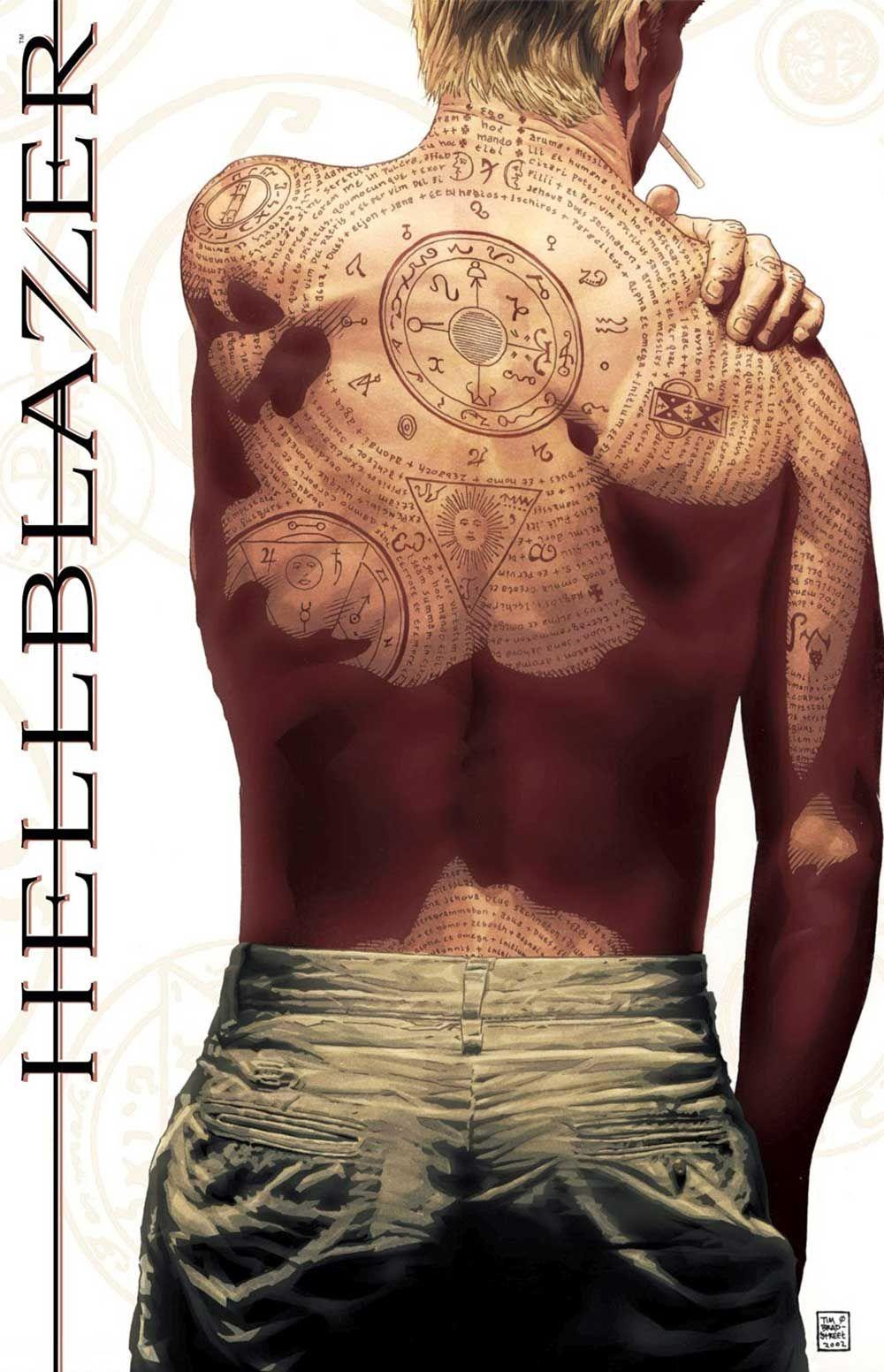5f7f7dcc5 Occult Tattoos John Constantine Hellblazer | tattoos | Occult tattoo ...