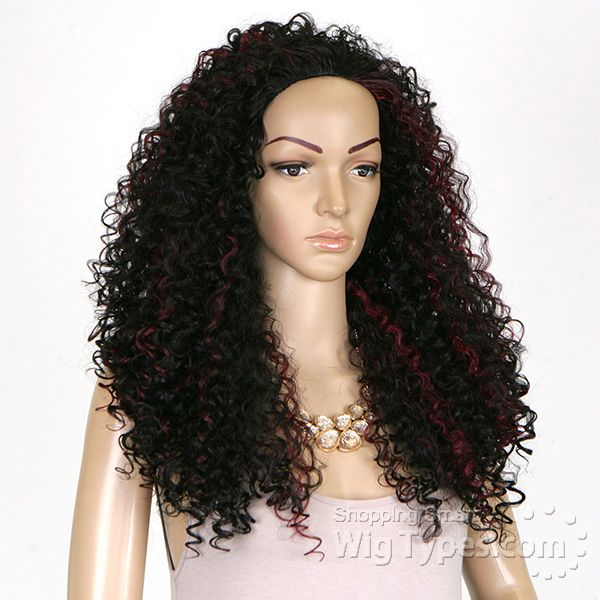 Outre Synthetic Half Wig Quick Weave - BATIK DOMINICAN CURLY BUNDLE HAIR  (Futura) - WigTypes.com 35050e96a