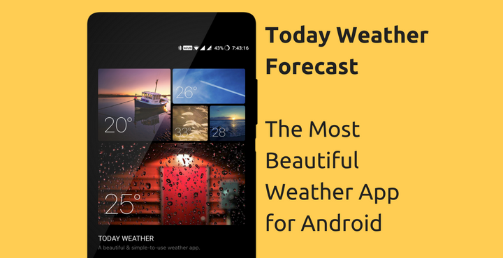 Today Weather Forecast The Most Beautiful Weather App
