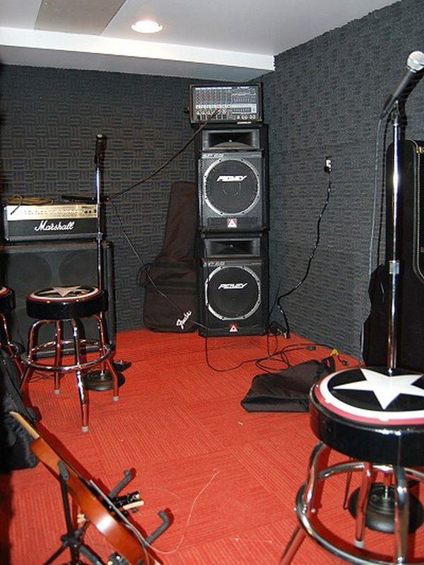 Music room soundproofing | Drum Dungeon | Pinterest | Spare room ...