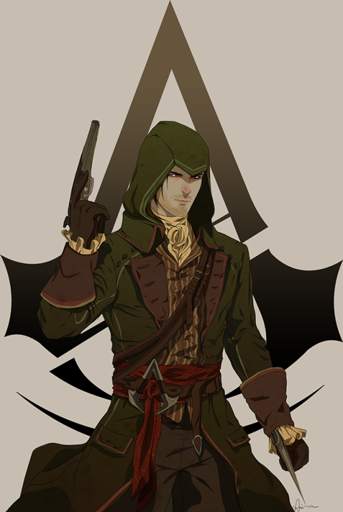 Green Assassin From Assassin S Creed Unity Assassins Creed