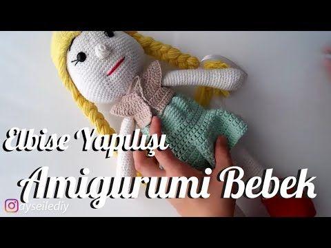 Amigurumi Zeynep Bebek Yapımı 4 (Gövde, Kol ve Boyun) (Gül Hanım ... | 360x480