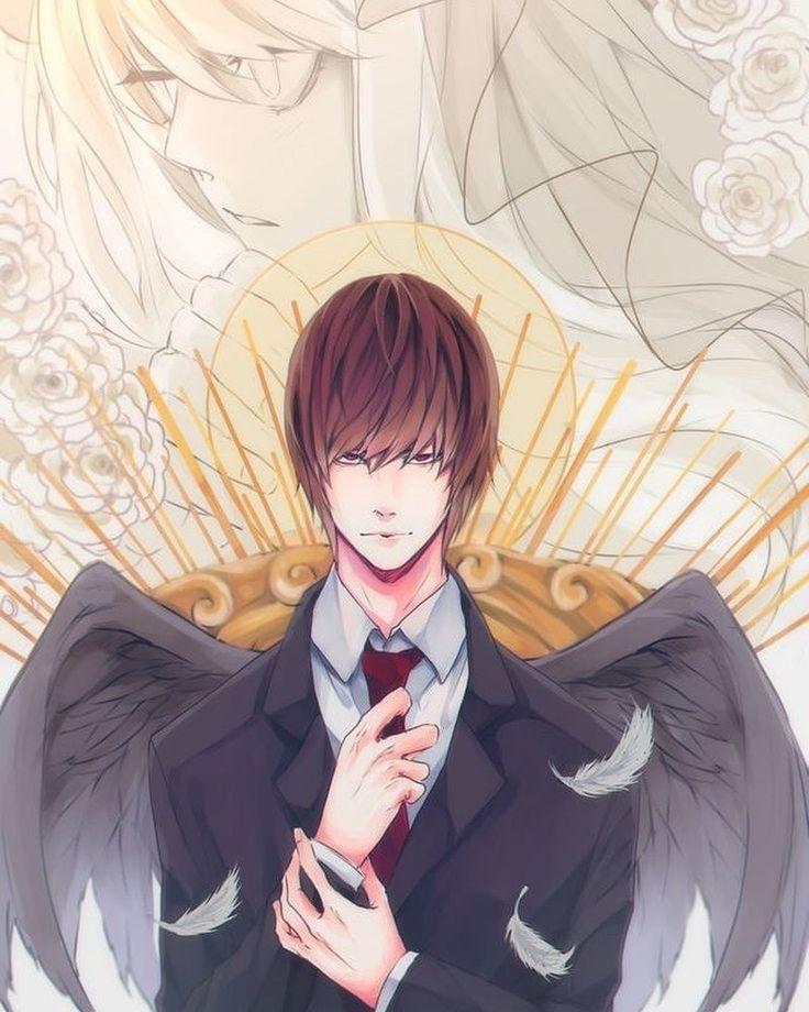 Light Yagami | Аниме, Тетрадь смерти, Смерть
