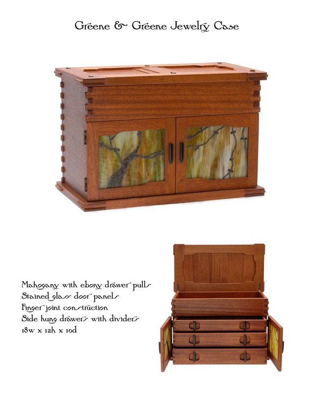 Greene Jewelry Case Mike Devlin Furniture Design