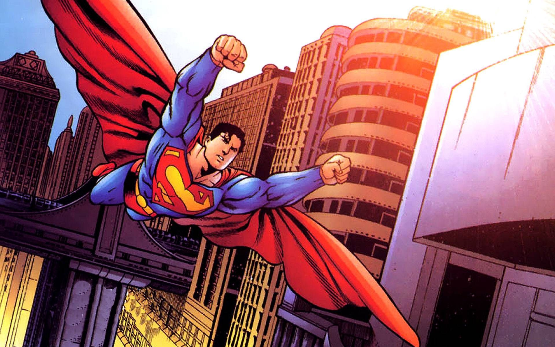 Dc Comics Superman Wallpaper Hd Free Download With Images