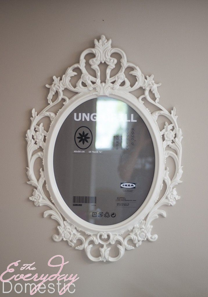 Ikea ung drill frame makeup beauty pinterest ikea for Ung drill mirror