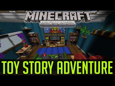Minecraft Xbox 360/One: Toy Story Adventure map Download - MCDN360 ...