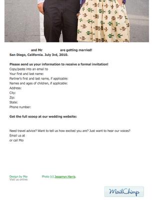 mailchimp dating