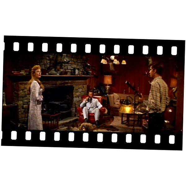 Con él Llegó El Escándalo Home From The Hill Vincente Minnelli 1960 El Capitán Hunnicutt Robert Mitchum Es Un Hombre Muy Poder Mitchum Painting Dogs