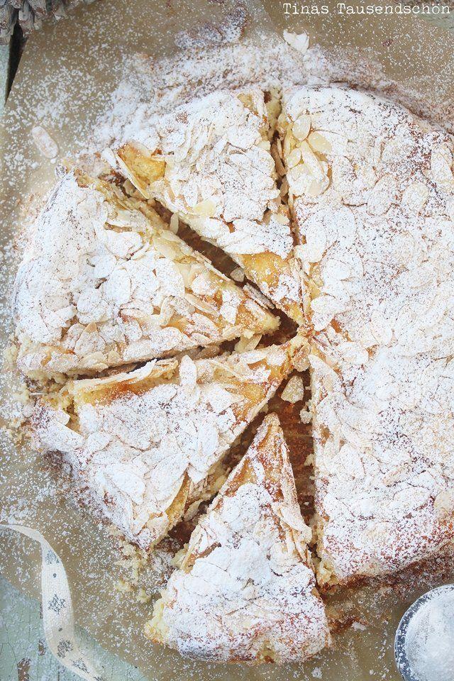 Mandel Ricotta Kuchen #leckerekuchen