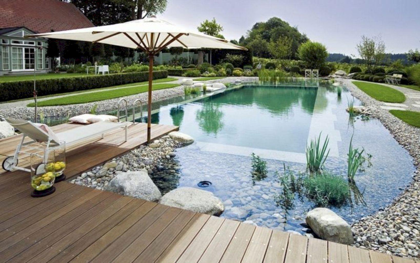 Inviting Landscapes Refreshment Natural Swimming Pools Designs Shairoom Com Natural Swimming Ponds Natural Swimming Pools Natural Pool