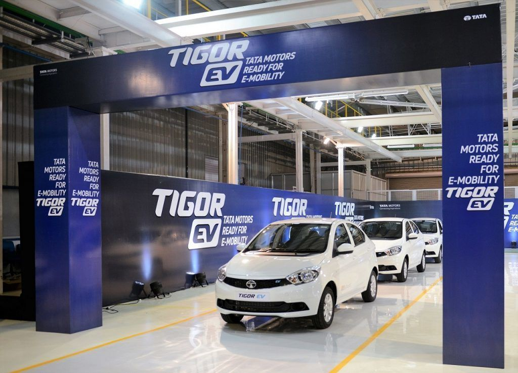 First batch of Tata Tigor EV launched in the presence of
